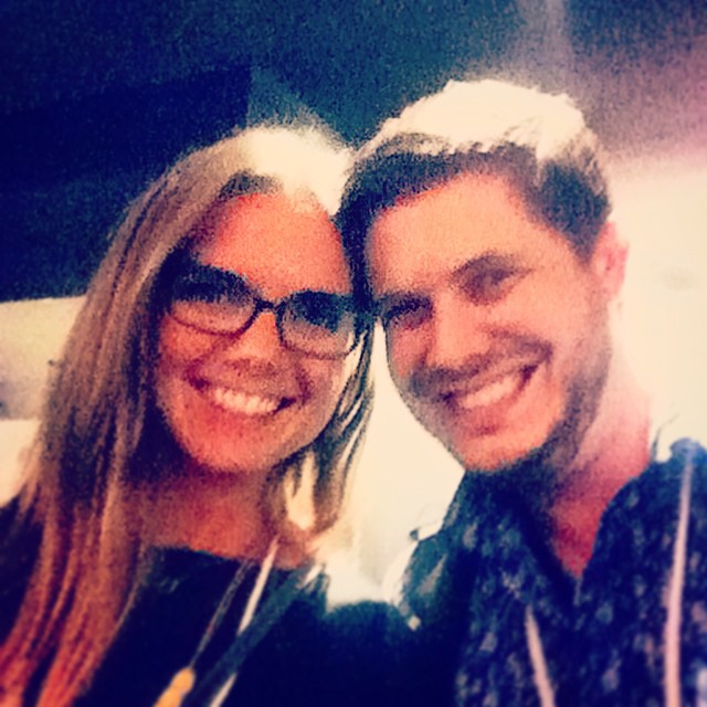 @kboyts and I held it down tonight at the #shutterstock HQ. it was so an awesome day at #CMsummit14 #cmbal #creativemorning